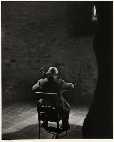 Yousuf Karsh (Canadian, 1908-2002); Pablo Casals;