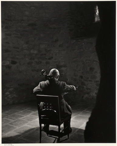 Yousuf Karsh (Canadian, 1908-2002); Pablo Casals; (1)