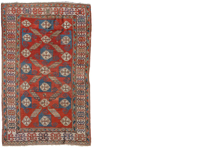 A Kazak rug Caucasus size approximately 5ft. 4in. x 8ft. 4in.