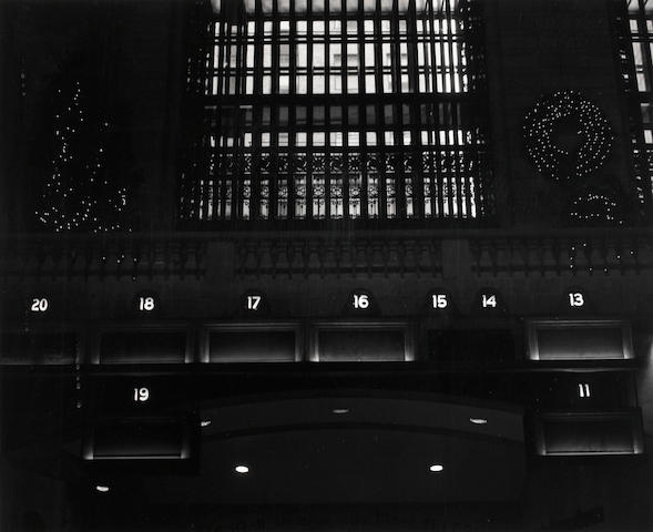 James Welling (American, born 1951); Grand Central Station at Christmas;