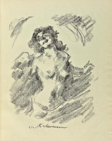 CORINTH, LOVIS. 1858-1925. Gesammelte Schriften. Berlin: Fritz Gurlitt, 1920.