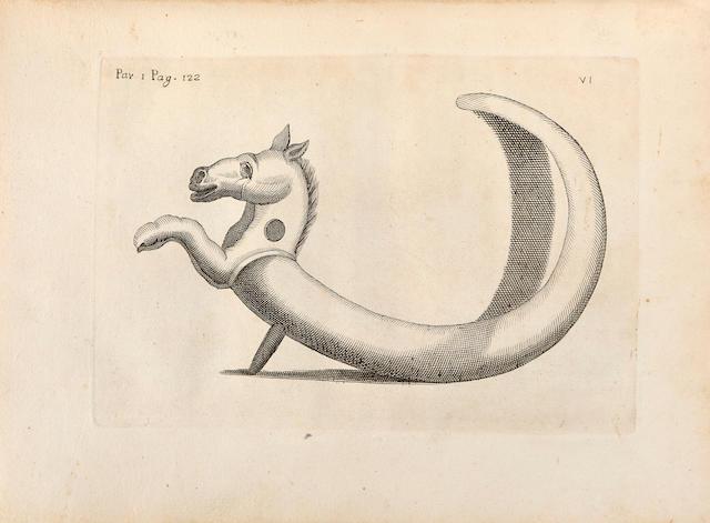 BAYARDI, OTTAVIO ANTONIO. 1690-1765. Prodromo delle antichità d'Ercolano. Naples: Regale Stampería Palatina, 1752.