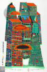 Friedensreich Hundertwasser (Austrian, 1928-2000); Good Morning City (Initial Edition);