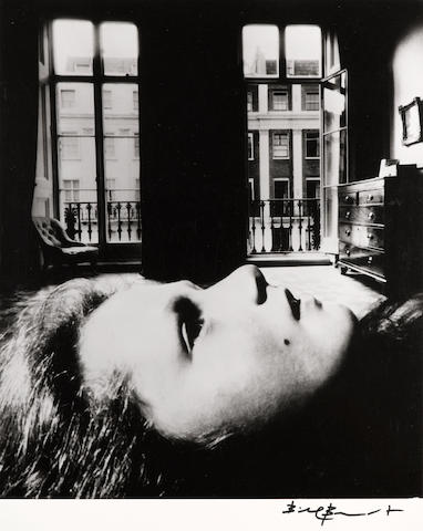 Bill Brandt (British, 1904-1983); Portrait of a Young Girl, Eaton Place, London;