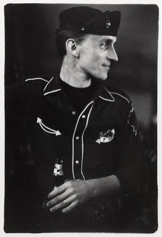 Danny Lyon (American, born 1942); A Chicago Outlaw, at the Stoplight, Cicero, Illinois;