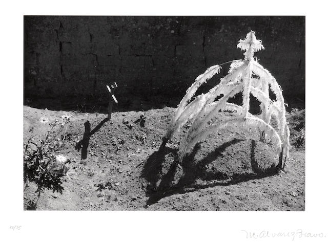 Manuel Alvarez Bravo (Mexican, 1902-2002); Tumba reciente (Recent grave), from Fifteen Photographs;