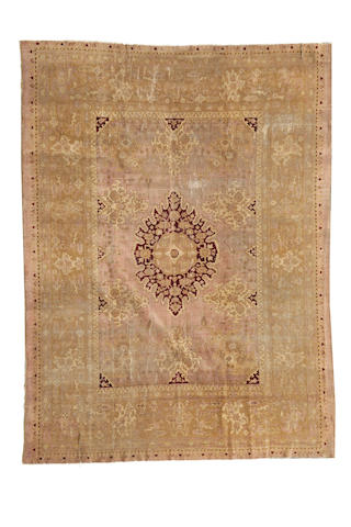 An Amritsar carpet size approximately 9ft. 6in. x 11ft. 6in.