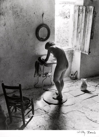 Willy Ronis (French, 1910-2009); Le Nu Provençal, Gordes;