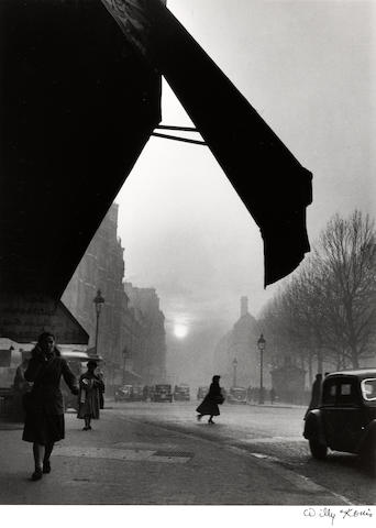 Willy Ronis (French, 1910-2009); Carrefour, Sèvres-Babylone, Paris;