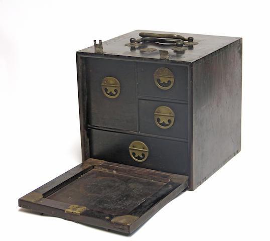 A hongmu scholar's box