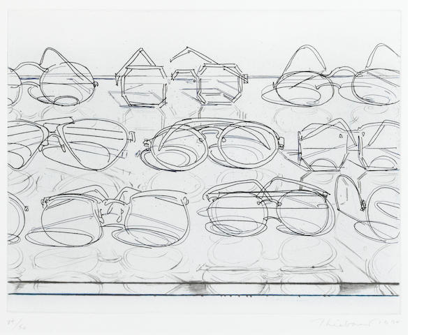 Wayne Thiebaud (American, born 1920); Eyeglasses;