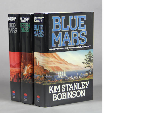 ROBINSON, KIM STANLEY. Red [Green; Blue] Mars.  [London]: Harper, [1992-1996.]