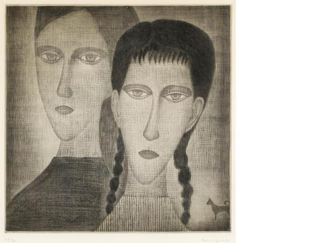 Yozo Hamaguchi (Japanese, 1909-2000); Gypsy;