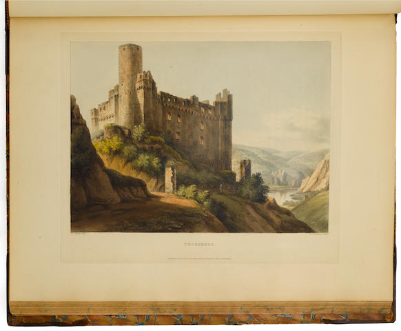 Gerning.  Tour of the Rhine.   1820.  LP copy.