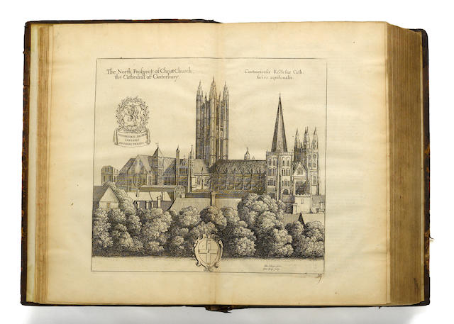 Dugdale, William.  Monasticum Anglicum.  WITH: Stephens.   5 vols.