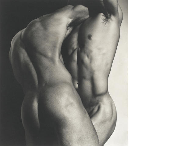 Herb Ritts (American, 1952-2002); Wrestling Torsos, Hollywood;