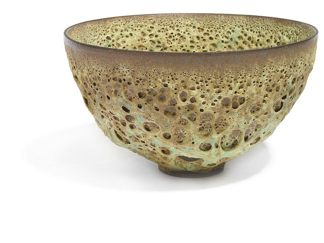 A Lovera crater glazed bowl