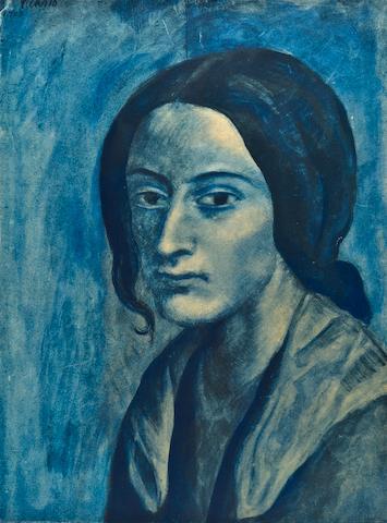 PICASSO, PABLO. 1881-1973. Les Bleus de Barcelone. Paris: Au Vent d'Arles, 1963.<BR />
