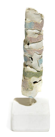 A Jerry Rothman ceramic sculpture from the series for Art Alliance, 1986