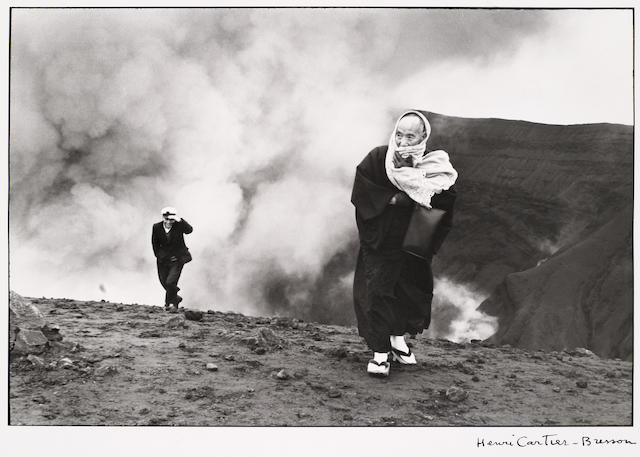 Henri Cartier-Bresson (French, 1908-2004); Mount Aso, Japan;