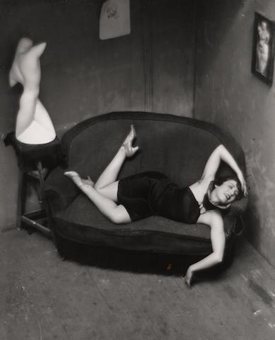André Kertész (Hungarian/American, 1894-1985); Satiric Dancer, Paris;