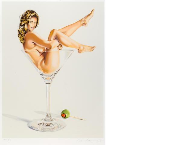 Mel Ramos (American, born 1935); Martini Miss;