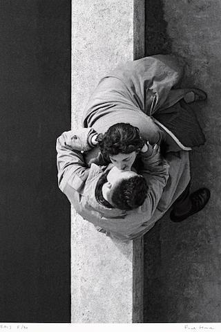 Frank Horvat (French, born 1928); Paris Couple;