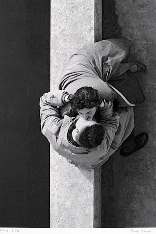 Frank Horvat (French, born 1928); Paris Couple;