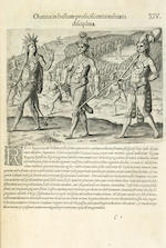 DE BRY, THEODOR, JOHANN THEODOR DE BRY and JOHANN ISRAEL DE BRY. [The Great or American Voyages.] Frankfurt: 1594-1617.