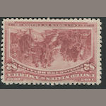$2.00 Columbian (242) rich color, lightly hinged, almost very fine. $1,100.00