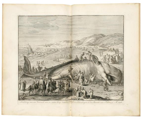 LE CLERC, JEAN. 1675-1736. Geschiedenissen der vereenigde Nederlanden. Amsterdam: Zacharias Chatelain, 1730.