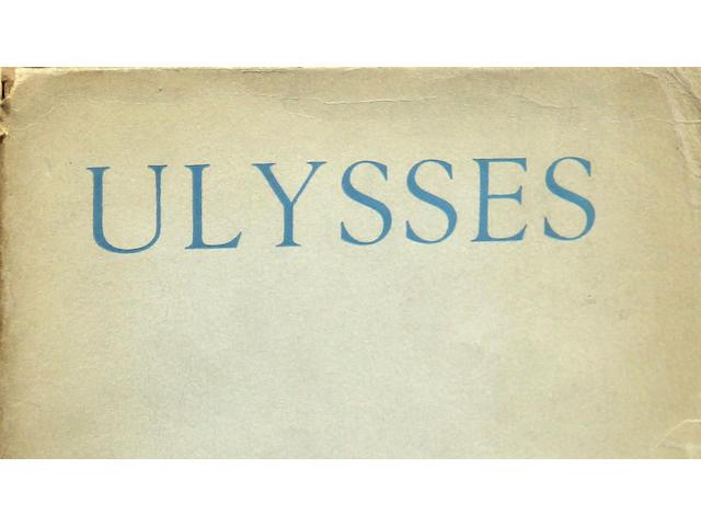 JOYCE, JAMES. Ulysses. Paris: Shakespeare and Company, 1924.