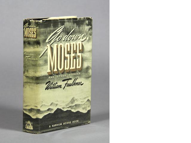 FAULKNER, WILLIAM. Go Down, Moses. New York: Random House, [1942].