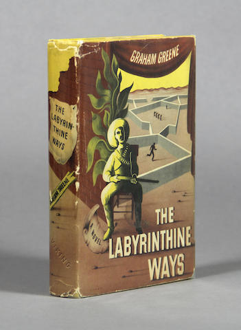 GREENE, GRAHAM. The Labyrinthine Ways. New York: The Viking Press, 1940.