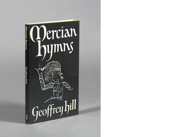 HILL, GEOFFREY. Mercian Hymns. [London]: Andre Deutsch, [1971].