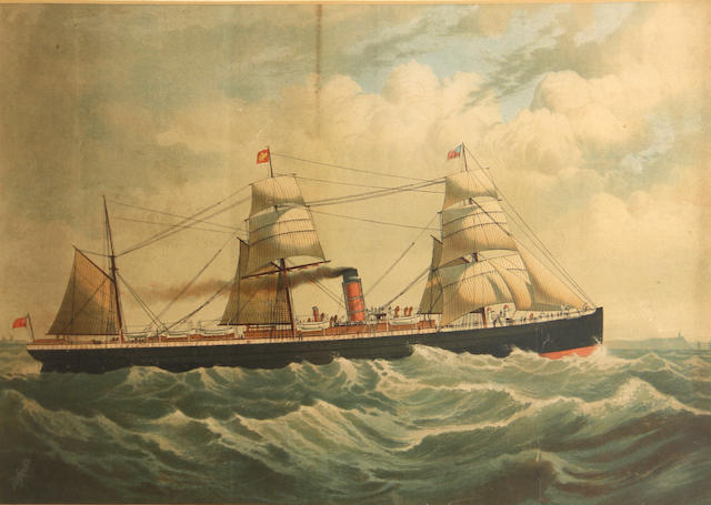 DeFries  (Publishers); Sail- and Steamship;