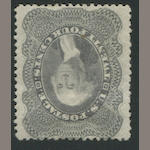 24c gray lilac (37) disturbed original gum, reperfed, very fine appearance. $1,500.00