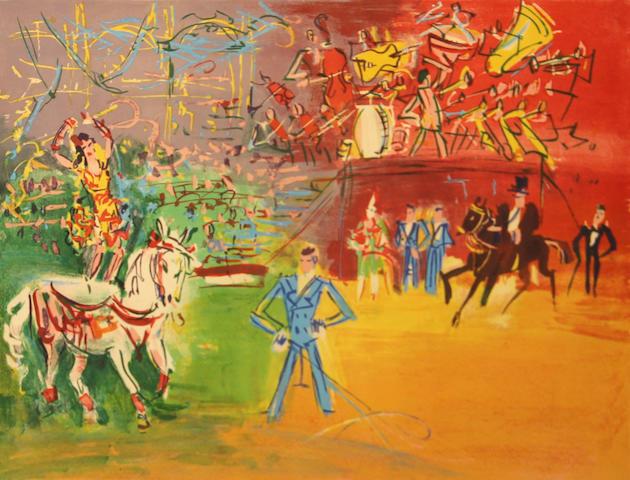 Jean Dufy (French, 1888-1964); Le Cirque;