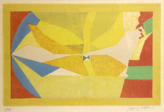 Jacques Villon (French, 1875-1963); Oiseau II;