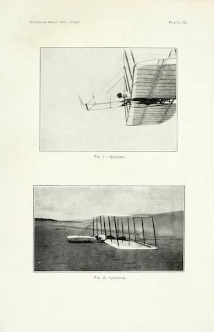 WRIGHT—SOME AERONAUTICAL EXPERIMENTS. WRIGHT, WILBUR. Some Aeronautical Experiments. [In: Annual Report of the Board of Regents of the Smithsonian Institution ... For the Year Ending June 30, 1902.] Washington: Government Printing Office, 1903.