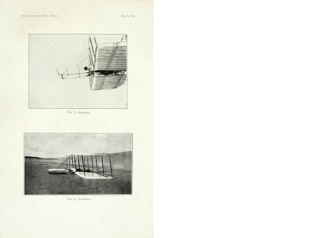 WRIGHT, WILBUR Some Aeronautical Experiments