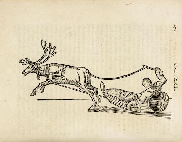 SCHEFFER, JOHN. 1624-1677. Lapponia. Id est, regionis Lapponum et gentis nova et verissima descriptio. Frankfurt: Christian Wolf, [1674].