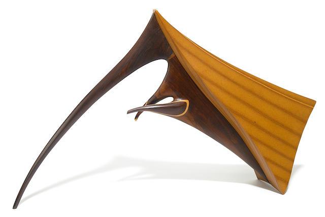 A Jack Roger Hopkins sculpture, mid 1970's