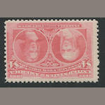 $4.00 Columbian (244) fresh bright color, o.g., fine, with P.F. certificate (1991). $2,150.00