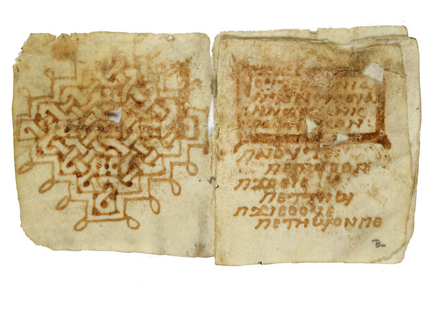 6th-8th century Coptic Greek dictionary