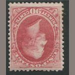 90c rose carmine (166) disturbed original gum, fine. $2,250.00