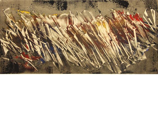 Walter Rudolf Mumprecht (Swiss, born 1918); Untitled (Abstract);