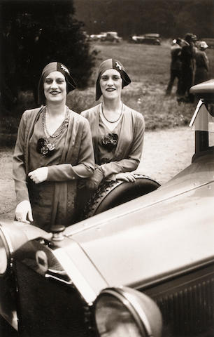 Jacques-Henri Lartigue (1894-1986); The Famous Rowe Twins of the Casino De Paris;