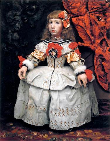 Yasumasa Morimura (Japanese, born 1951); Daughter of Art History, Princess A;