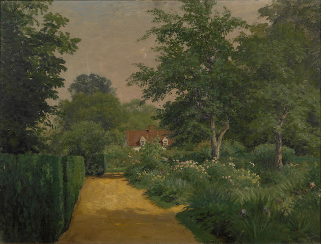 John Ross Key, oil on board
